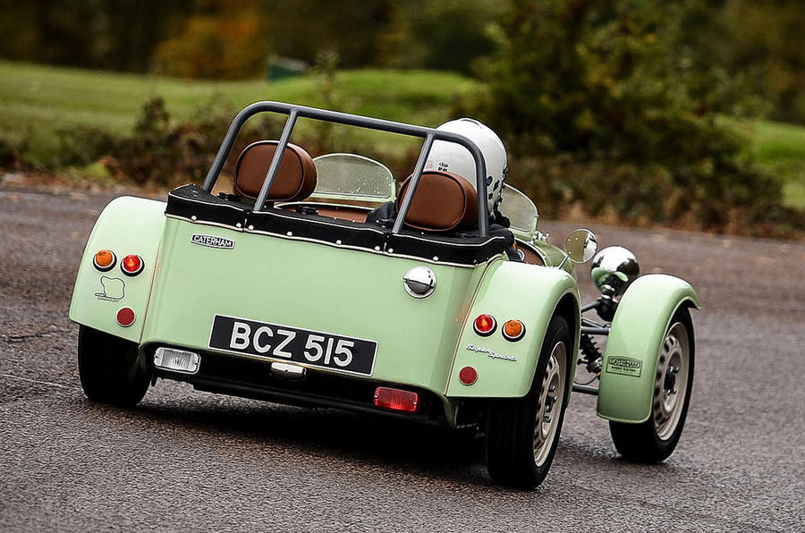 Caterham Supersprint rear