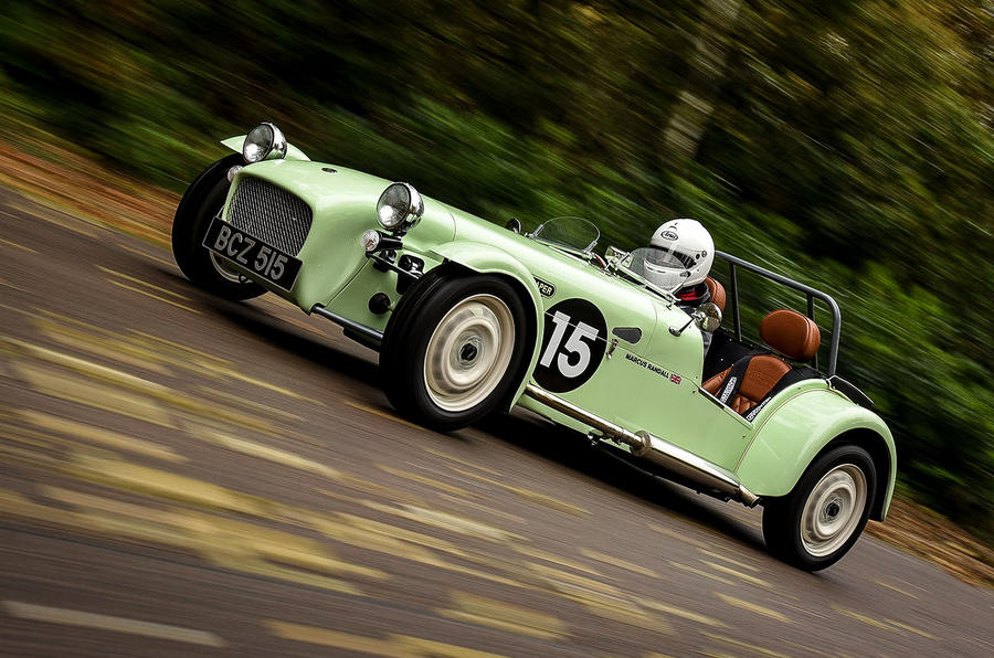 Caterham Supersprint side profile