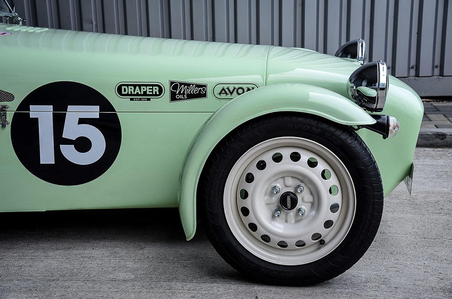 Caterham Supersprint steel wheels