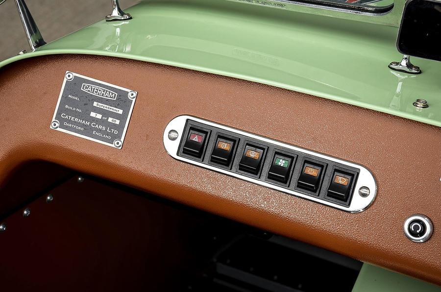 Caterham Supersprint switchgear