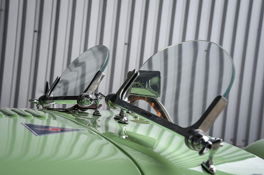 Caterham Supersprint windscreen