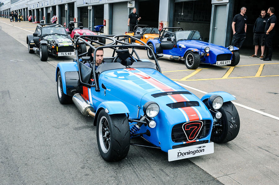Caterham Seven 420R Donington Edition