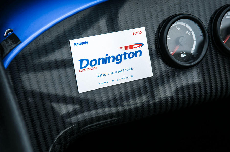 Caterham Seven 420R Donington Edition