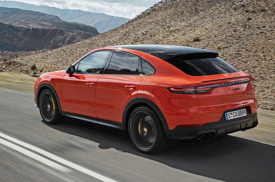 Porsche Cayenne Coupe debuts with sporty looks but reduced utility