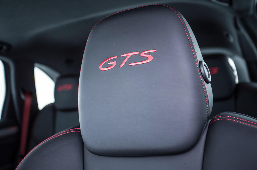 Porsche Cayenne GTS badged headrest