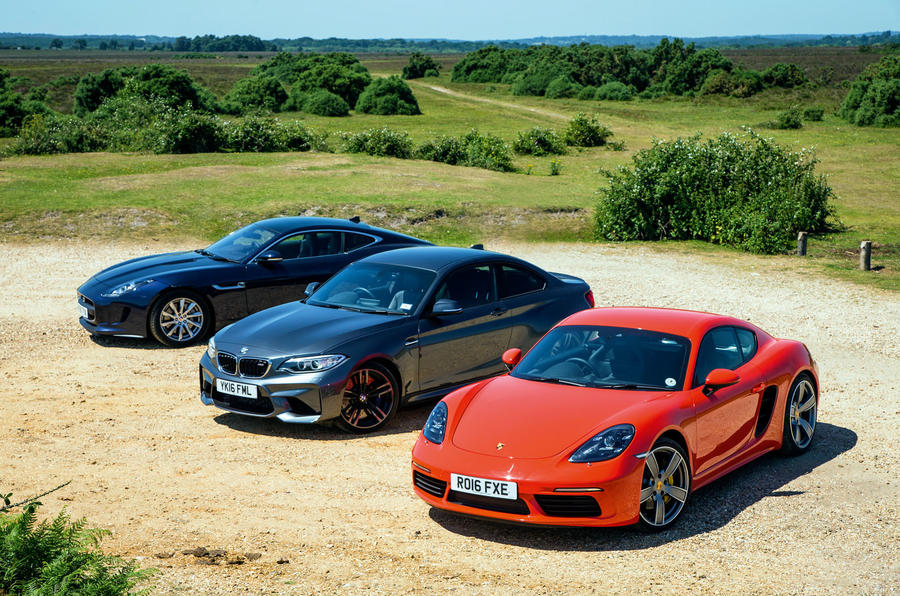 ... Porsche 718 Cayman S Vs BMW M2 Vs Jaguar F Type: Battle Of The ...