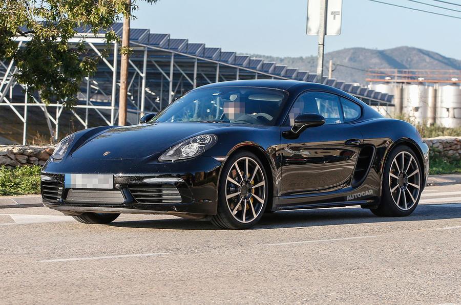 2016 Porsche Cayman S Review >> 2016 Porsche Cayman facelift spotted - first spy pictures   Autocar