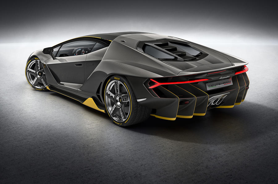 Lamborghini Centenario \u2013 759bhp V12 supercar shown on video