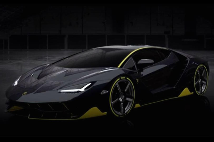 Lamborghini Centenario Styling Revealed Ahead Of Geneva Motor Show