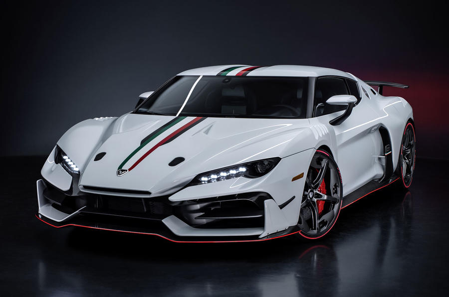 Italdesign Duerte to enter limited production as targa