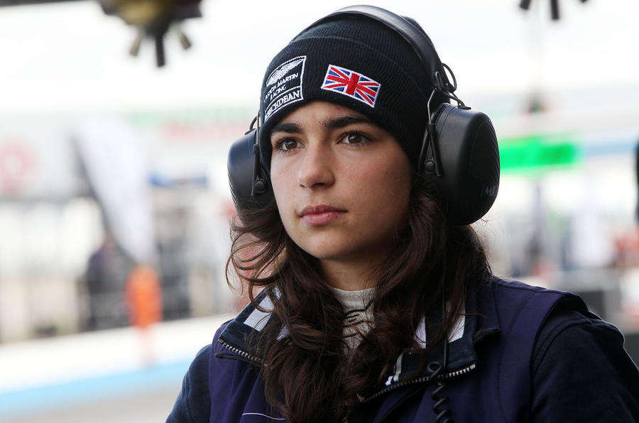 Jamie Chadwick: meeting the youngest and first female ...