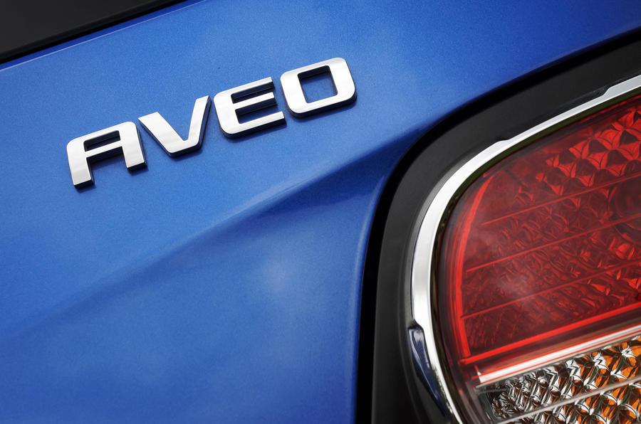 Chevrolet Aveo badging