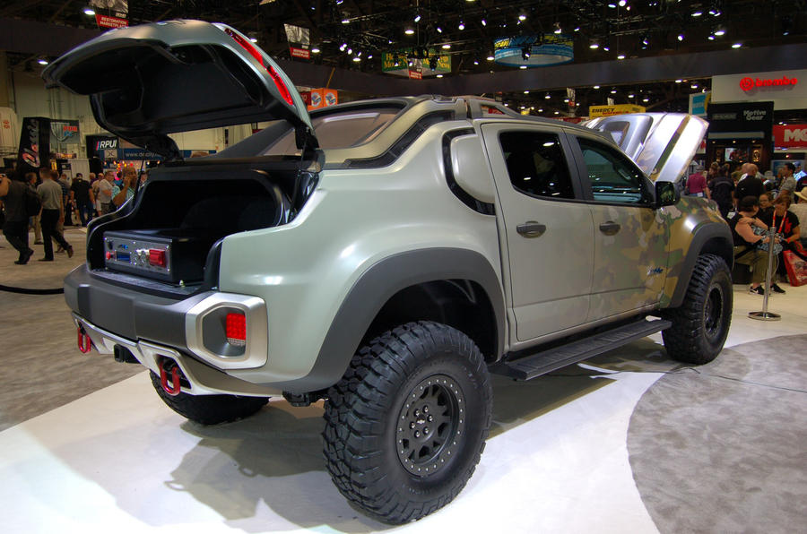 Chevy Colorado Crew Cab >> General Motors and US Army collaborate on fuel cell prototype | Autocar