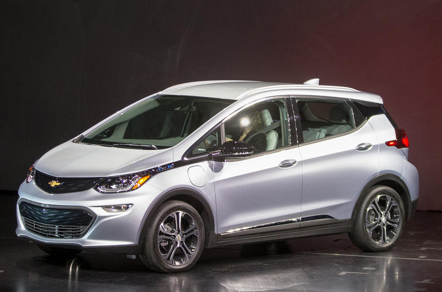 New Chevrolet Bolt On Show In Detroit Autocar