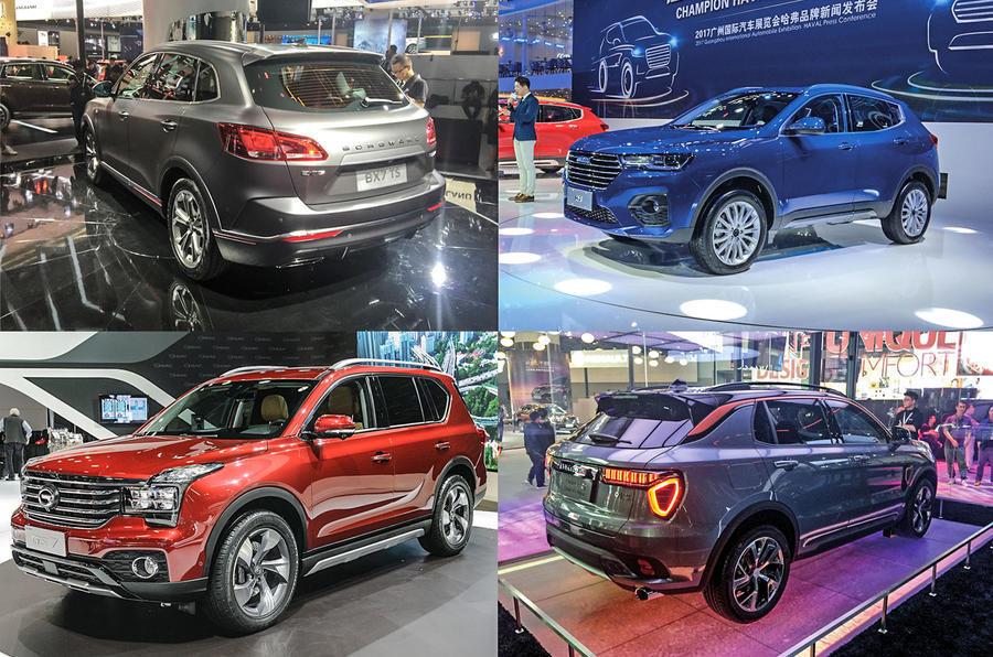 Chinese SUVs