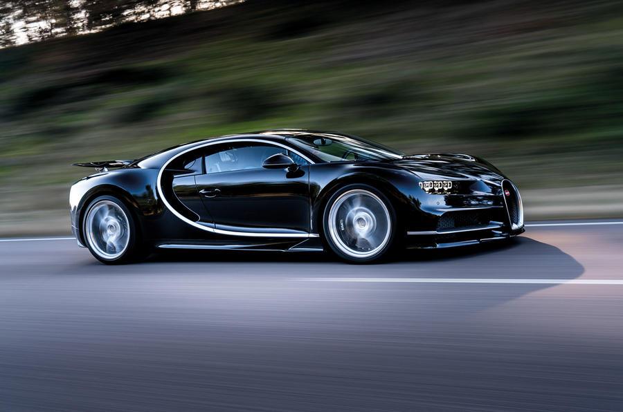 Bugatti chiron hybrid