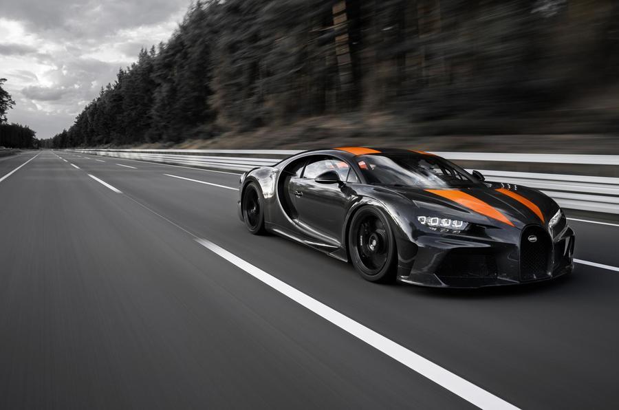 Bugatti Chiron testing at Ehra-Lessien