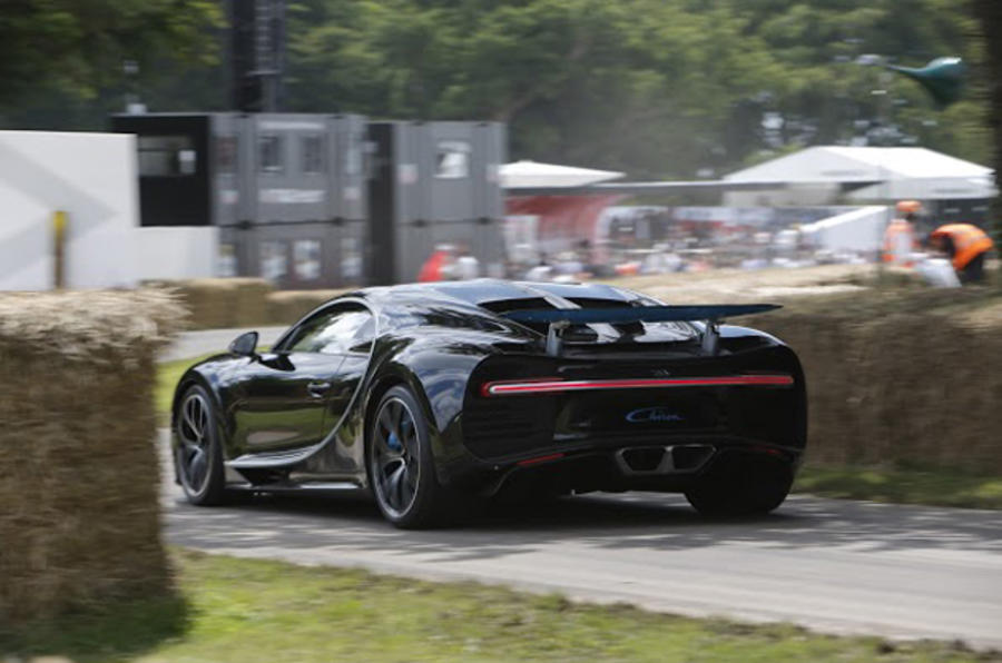 Bugatti Chiron Goodwood Festival of Speed