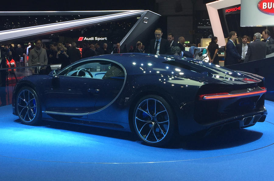 Bugatti Chiron: new carbon colour launched at Geneva