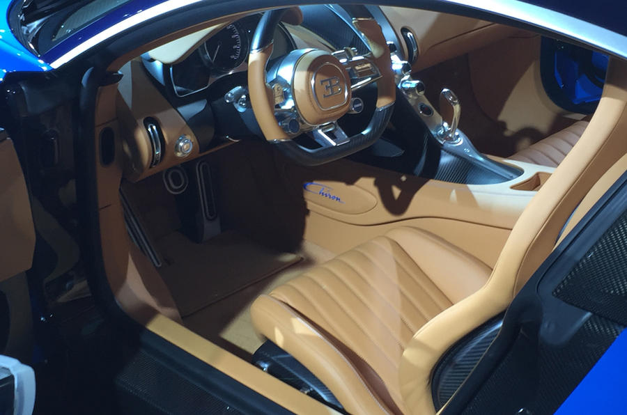 Bugatti Chiron Geneva