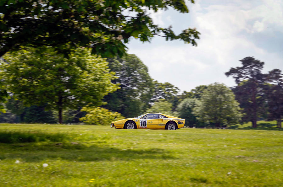 Ferrari 308 GTB rally car