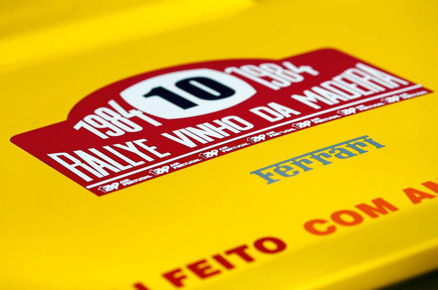 Ferrari 308 GTB rally car