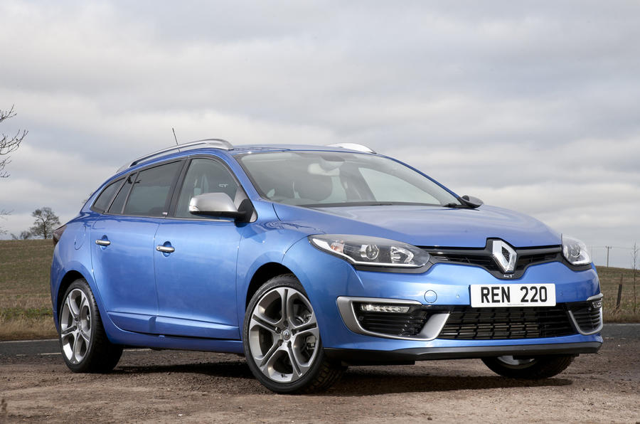 The Renault Megane Sport Tourer GT 220 is priced from £24,245
