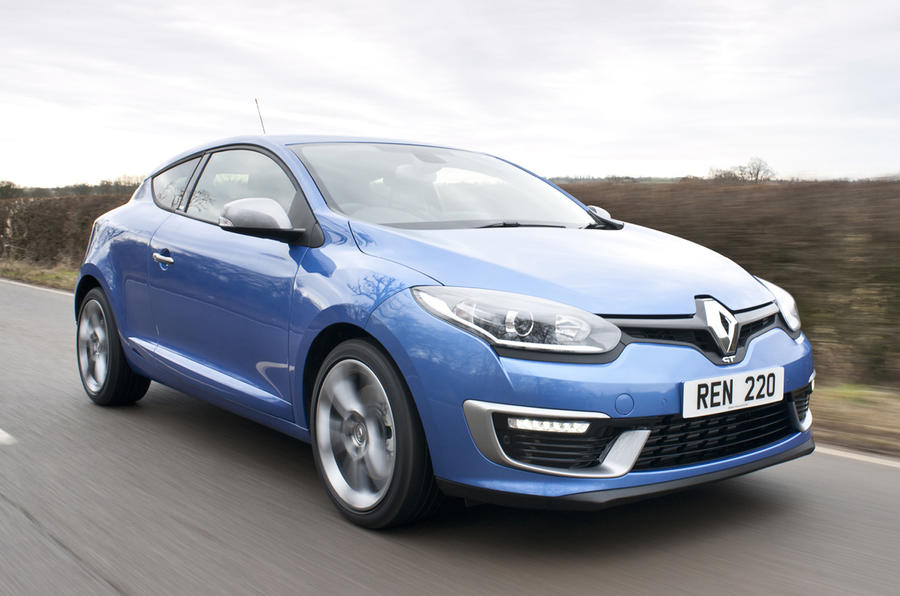 The Renault Megane Coupe GT 220 is priced from £24,230