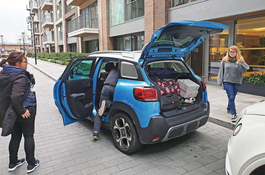 Citroen C3 Aircross long-term review - Christmas luggage