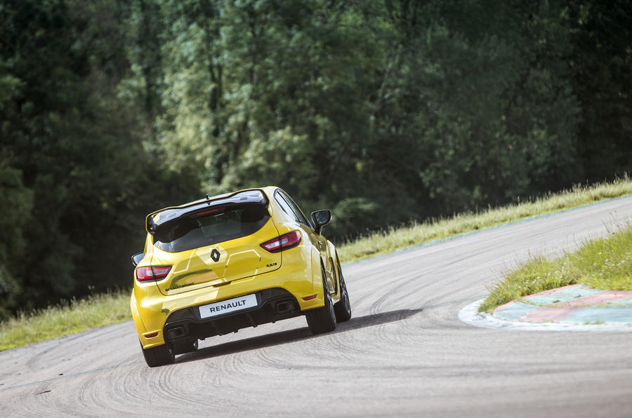 Renault Clio RS16 rear