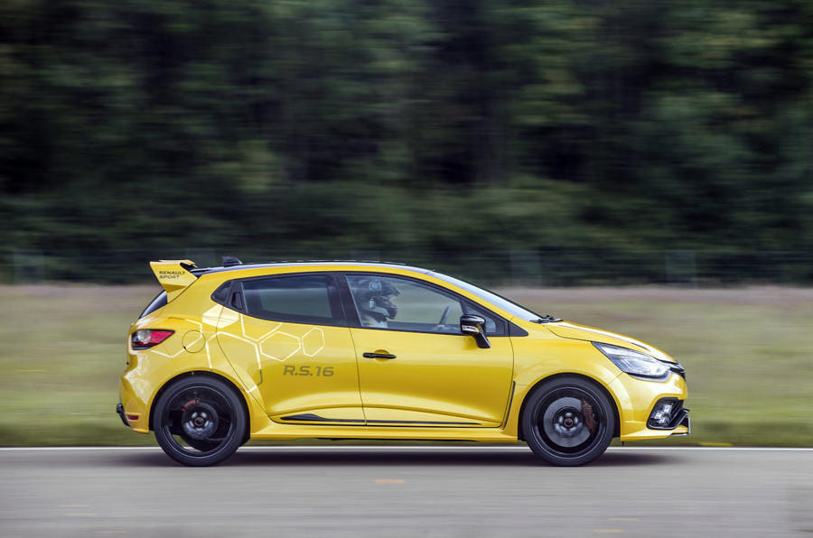 Renault Clio RS16 side profile
