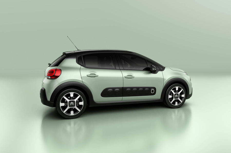 Citroen C4 Cactus Green >> New Citroën C3 supermini reflects C4 Cactus styling | Autocar