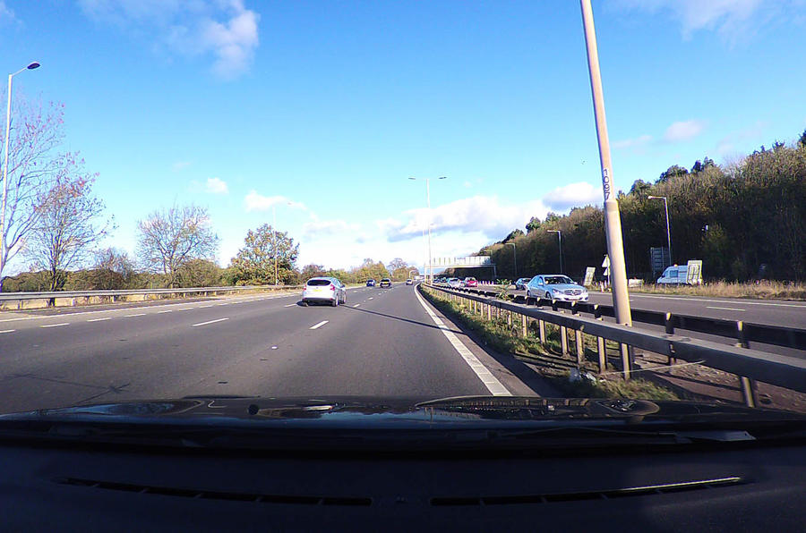 Citroën C3 dashcam shot