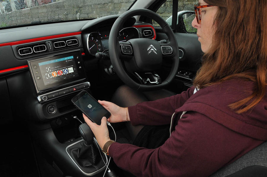 Citroen C3 longterm review Apple Carplay