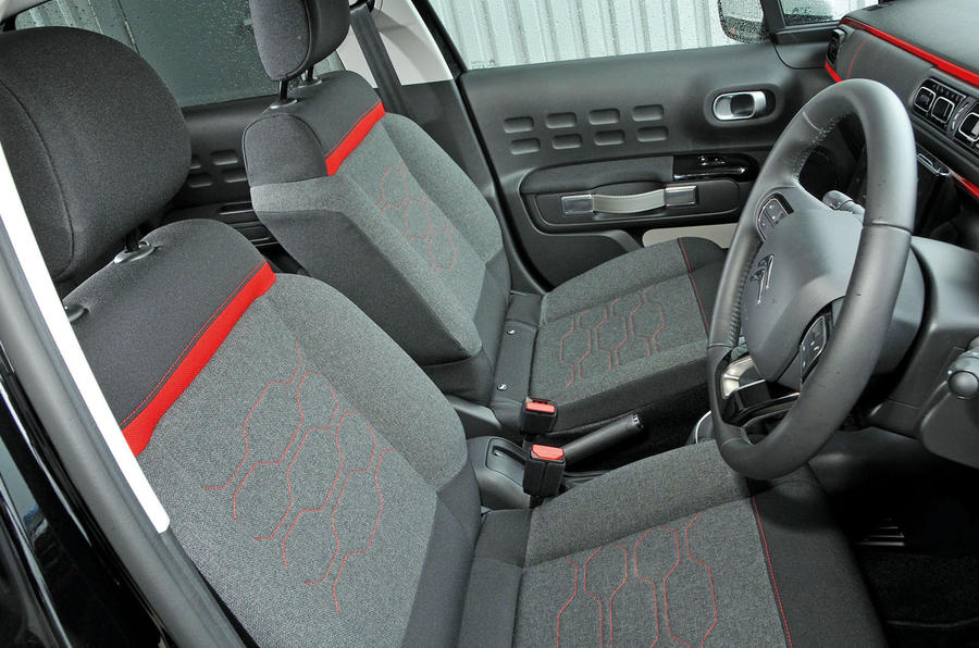 Citroën C3 satisfying seats