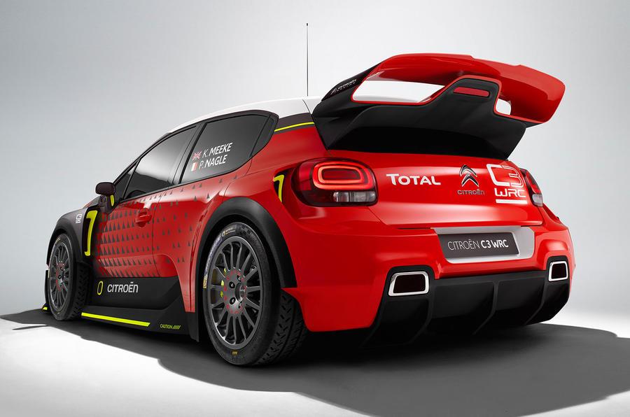 C3 Citroen WRC Concept Car 2017