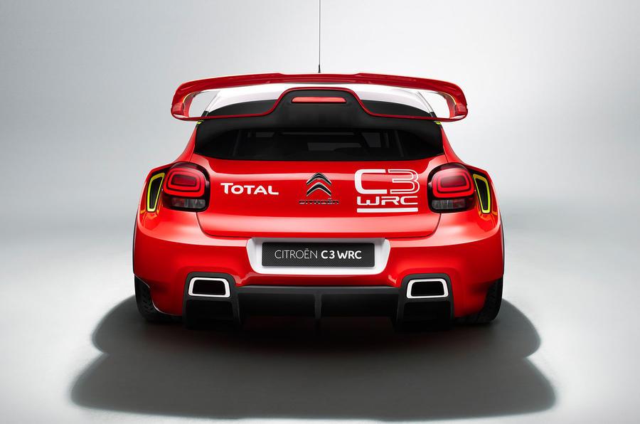 Citroen offers fresh shots of WRC 2017 challenger