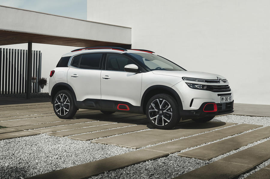 Citroen C5 Aircross 2018 European launch static front