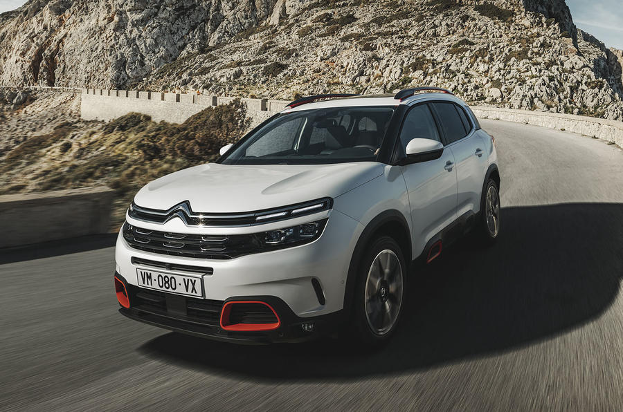 citroen c5 aircross suv launched in europe prototype drive autocar. Black Bedroom Furniture Sets. Home Design Ideas