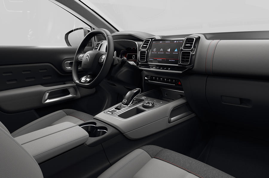 Citroen C5 Aircross 2018 European launch cabin