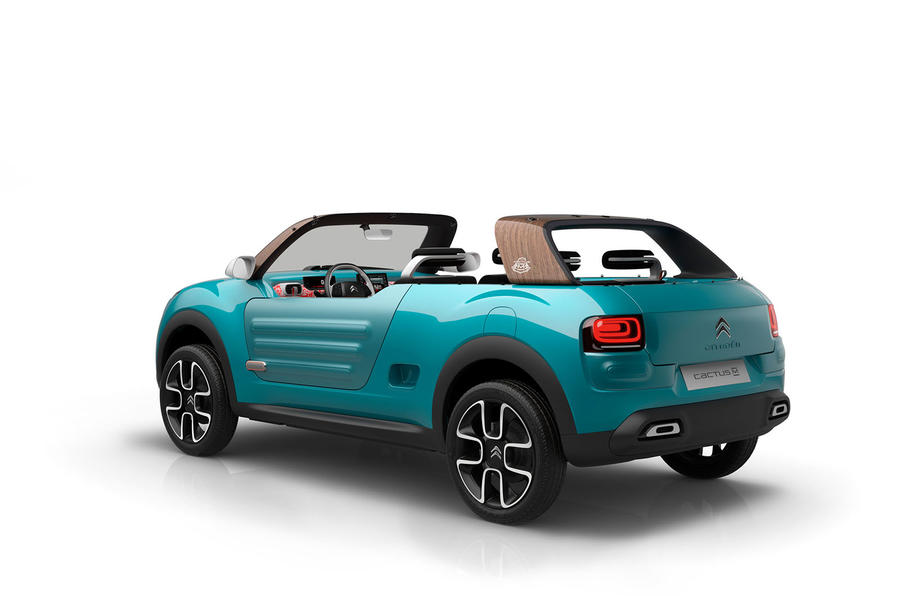 Citroen C4 Cactus >> Citroen C4 Cactus M concept revealed   Autocar