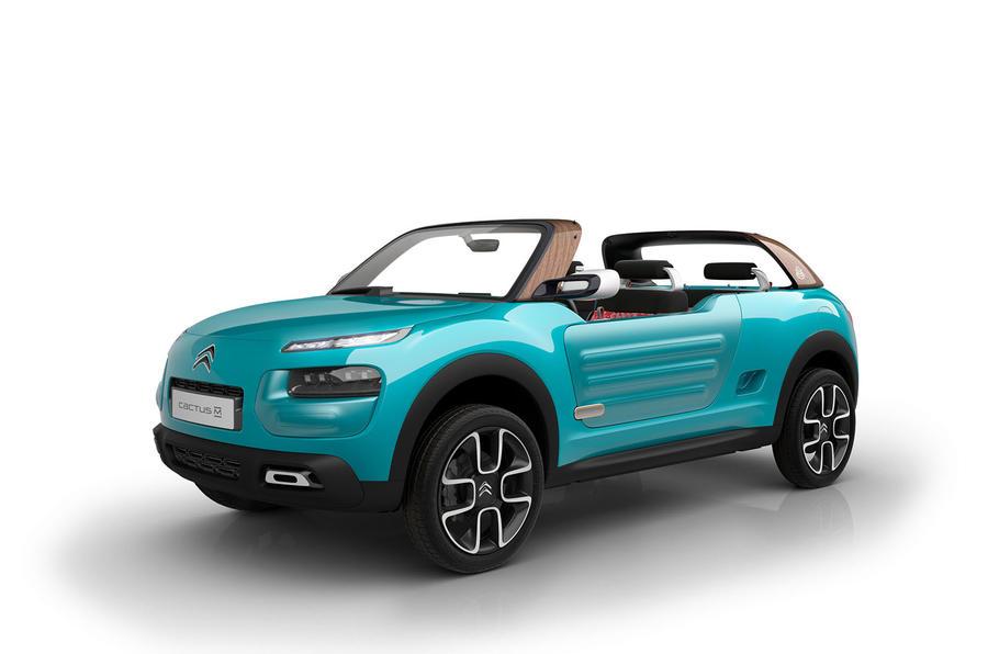 citroen c4 cactus m concept revealed autocar. Black Bedroom Furniture Sets. Home Design Ideas