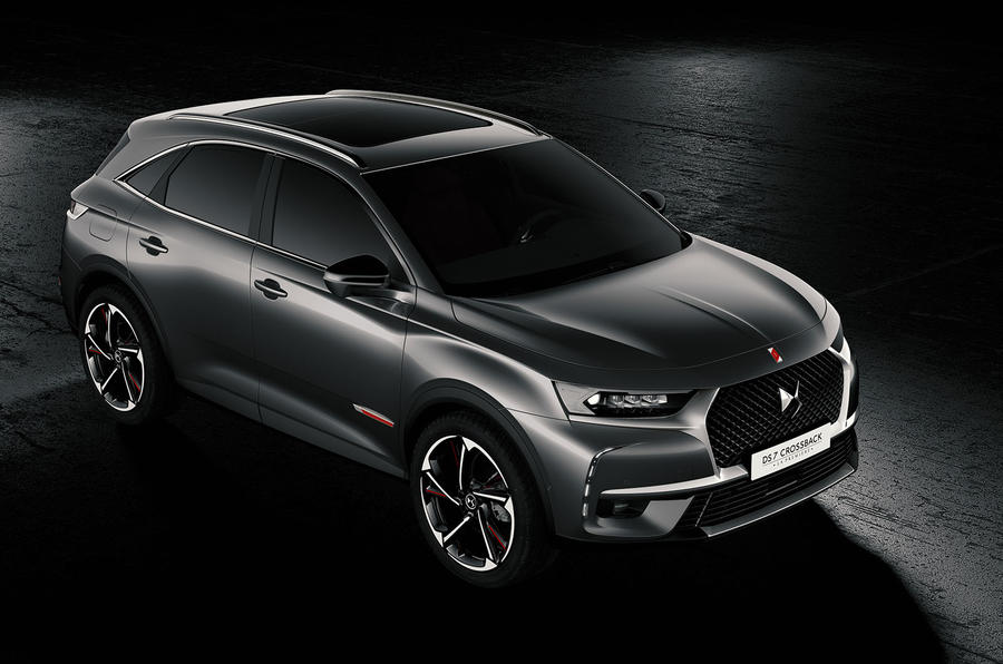 2017 ds 7 crossback priced from 28 050 autocar. Black Bedroom Furniture Sets. Home Design Ideas