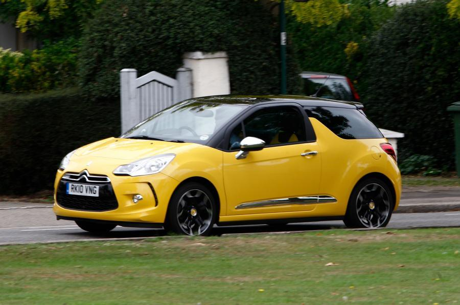 DS 3 DSport side profile