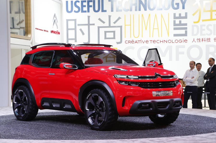 citroen c5 aircross suv to be revealed at shanghai motor show motorarticles. Black Bedroom Furniture Sets. Home Design Ideas