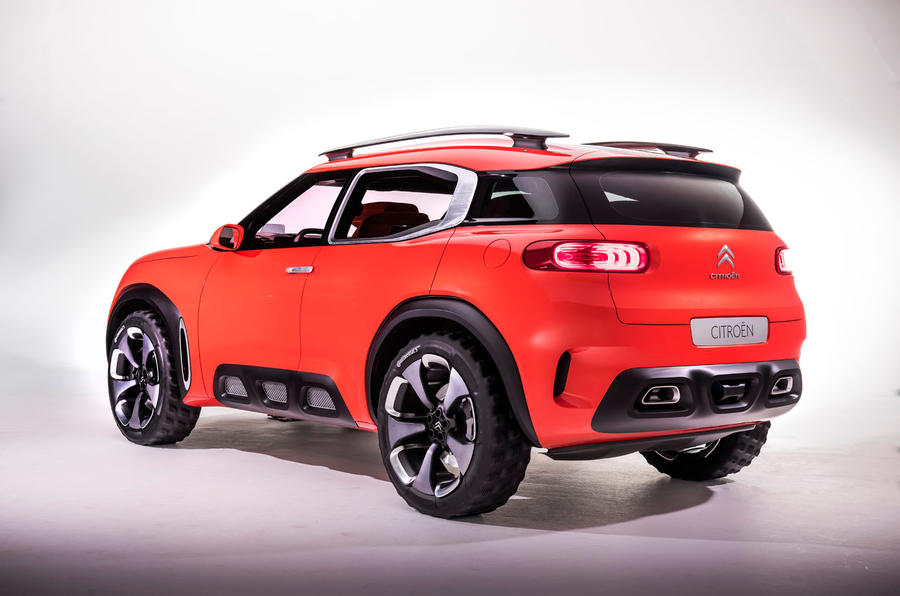 citro n aircross suv concept revealed autocar. Black Bedroom Furniture Sets. Home Design Ideas