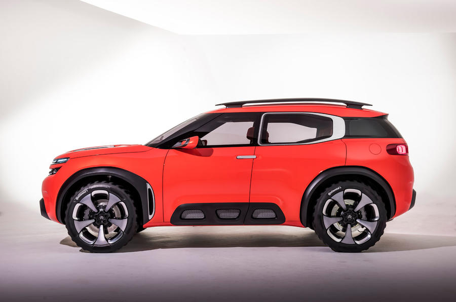 citro n aircross suv concept revealed autocar. Black Bedroom Furniture Sets. Home Design Ideas