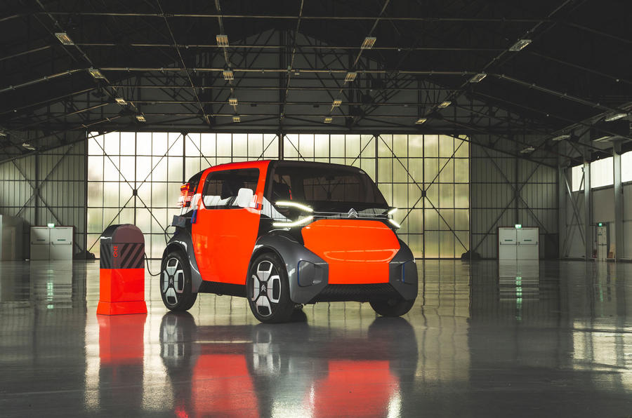 Citroen Ami One concept driven - static