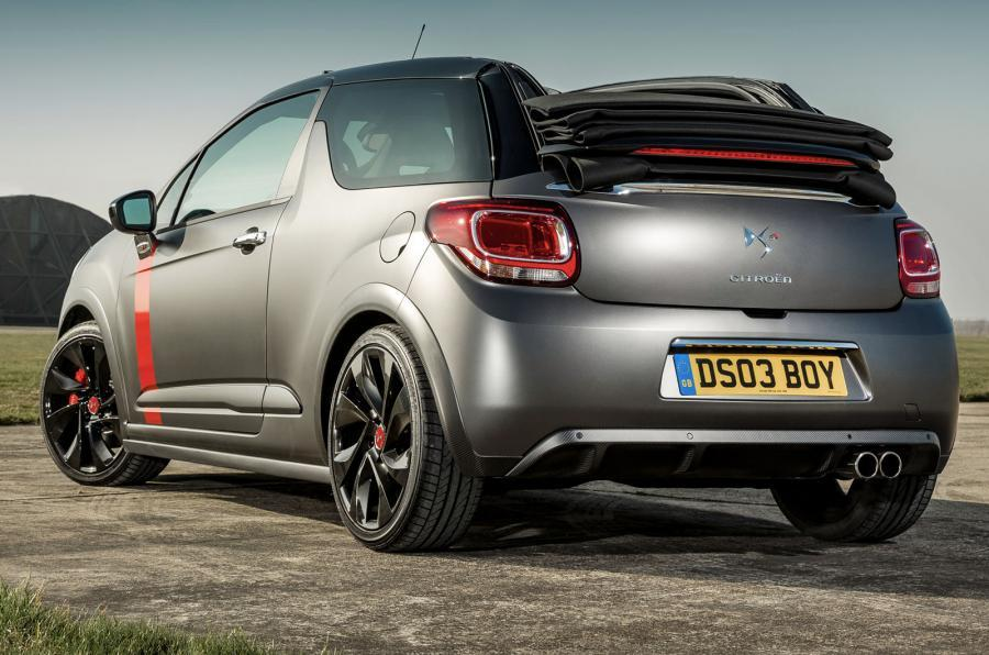 DS 3 Racing Cabrio rear quarter