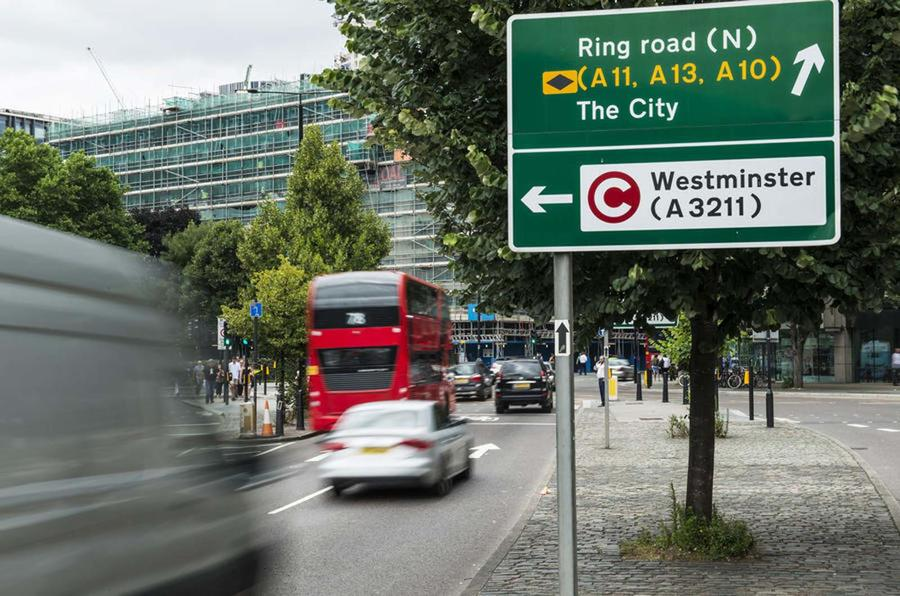 City of London traffic